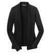 LSW289A - Ladies' Open Front Cardigan