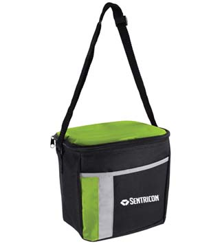 6 Pack Color Block Cooler