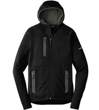 Sport Hooded Full-Zip Fleece Jacket