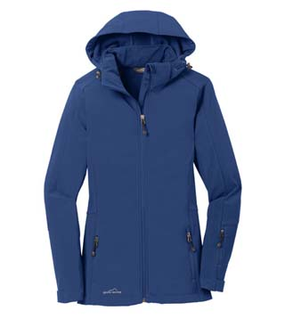Ladies' Hooded Soft Shell Parka