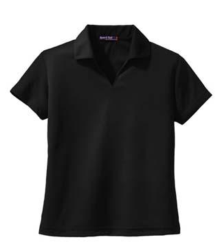 Ladies' Dri-Mesh V-Neck Sport Shirt