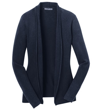 Ladies' Open Front Cardigan