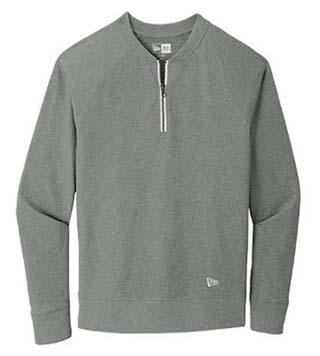 Sueded 1/4-Zip Pullover